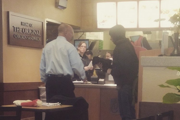 mark meadows: chick-fil-a owner declines homeless man's offer to work for food and gives him something even better