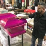 Texas Man Responds to Shooting the Only Way He Can. The Hot Pink Casket Is for One of the Youngest Victims