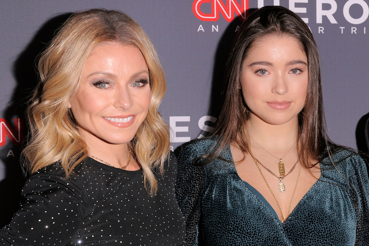 kelly ripa posts sweet photo with 16-year-old daughter. it was met with a 'disgusting' response