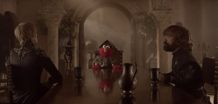 elmo joins 'game of thrones' for lesson about respect
