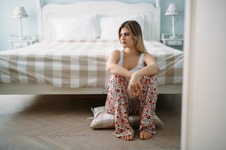 Mom Suffering Through Postpartum Depression