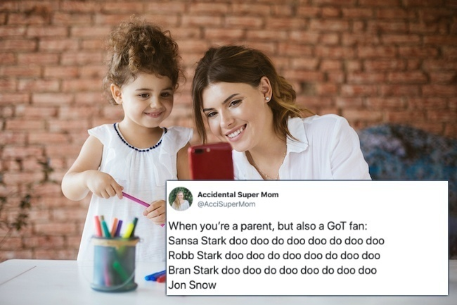 funny parenting and motherhood tweets