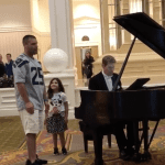 WATCH: Daughter Looks On in Pure Awe as Her Father Sings 'Ave Maria' in Disney Resort Lobby