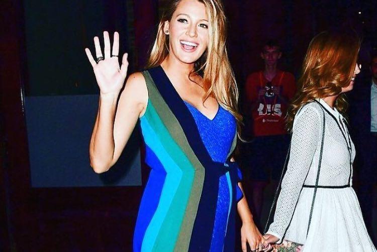 Blake Lively Pregnancy Fashion