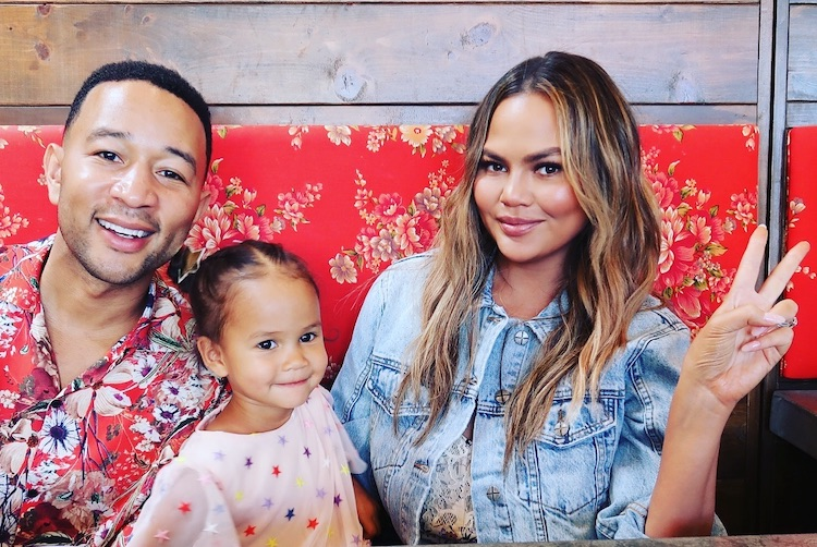 Chrissy Teigen Launches #MyWishForMoms Mental Health Campaign