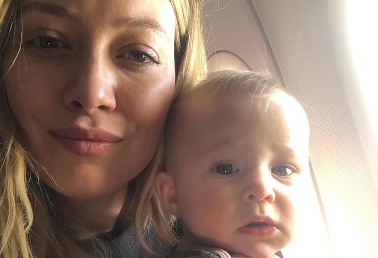 Hilary Duff Breastfeeding Post