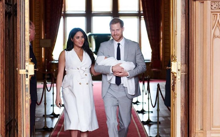Meghan Markle and Prince Harry Share First Look at Royal Baby