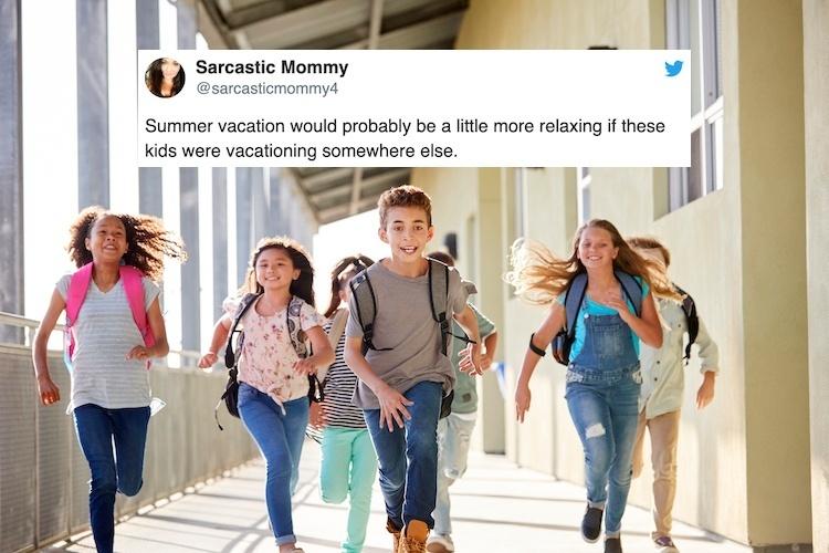 hilarious parenting tweets school