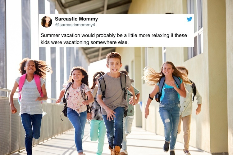 Hilarious Parenting Tweets School