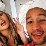 Chrissy Teigen Clapped Back at Baby Bump Speculation with a Message We All Need to Hear