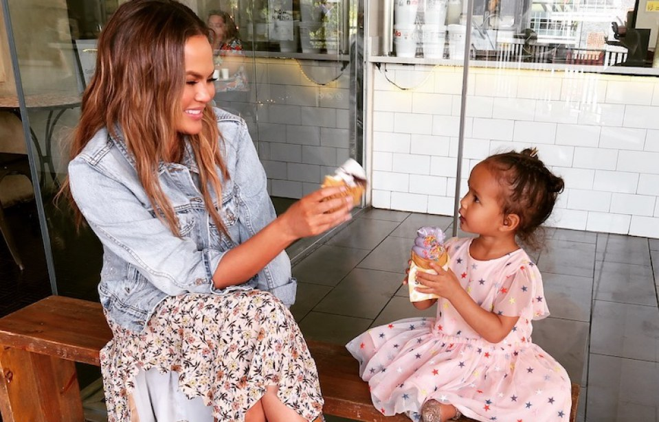 WATCH: Chrissy Teigen Takes Daughter Luna to Candy Court and Teaches Us All a Lesson About Negotiation