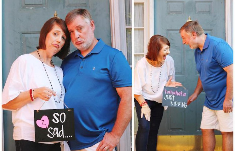 This Empty Nester Photo Shoot Went Viral Because It Is Honestly the Greatest Thing on the Internet