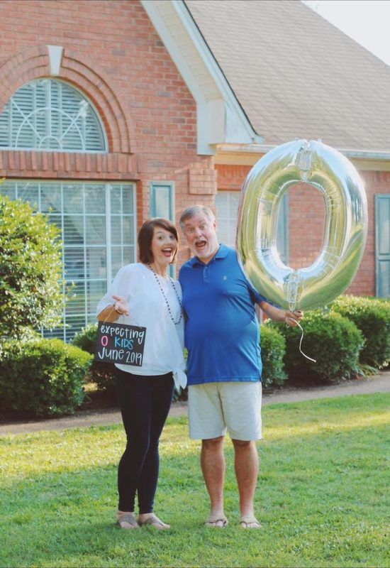 funny empty nester photo shoot goes viral
