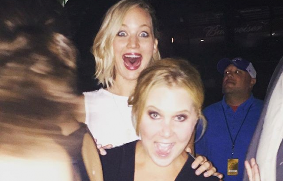 Amy Schumer's New Mom Bedtime Isn't Working for Her BFF, Jennifer Lawrence