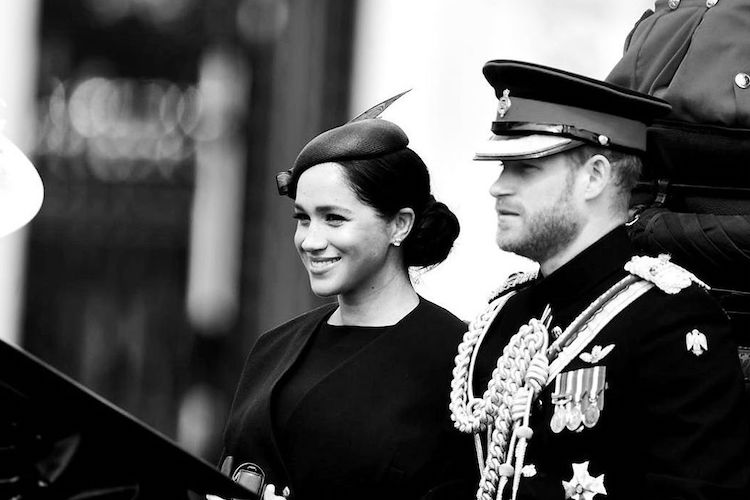 Meghan Markle Makes Appearance Post-Birth