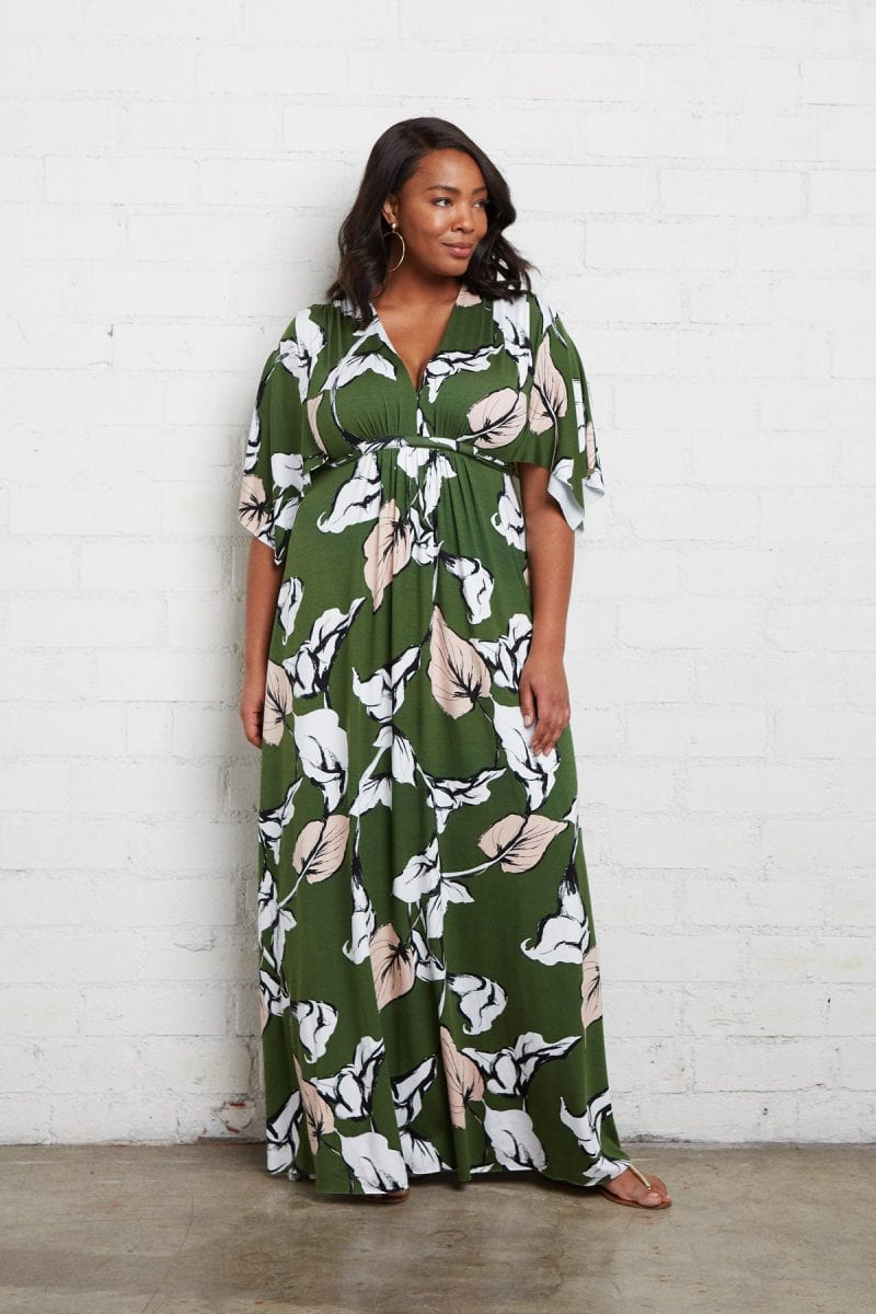 plus size maternity dress