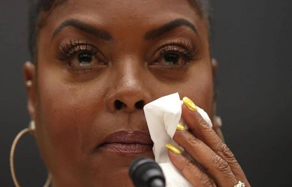 WATCH: Taraji P. Henson Gets Emotional While Discussing Battles With Depression and Anxiety at Congressional Mental Health Hearing