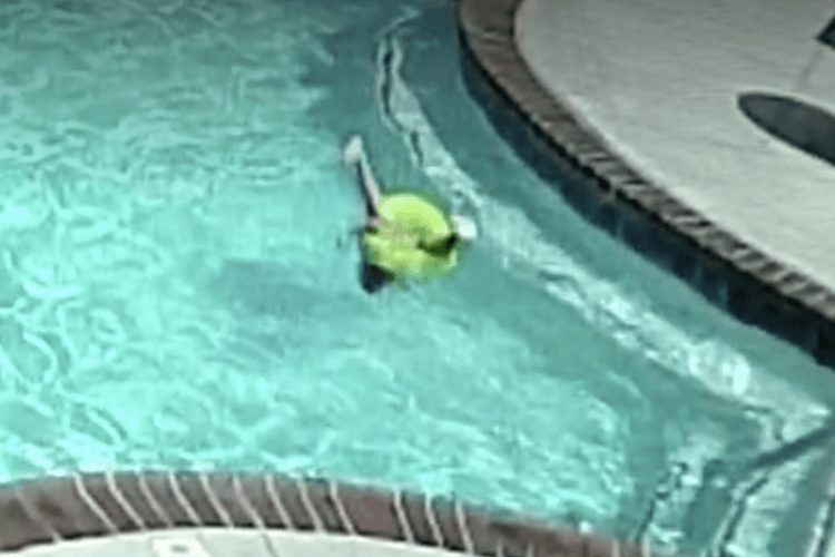 3-year-old almost drowns in pool