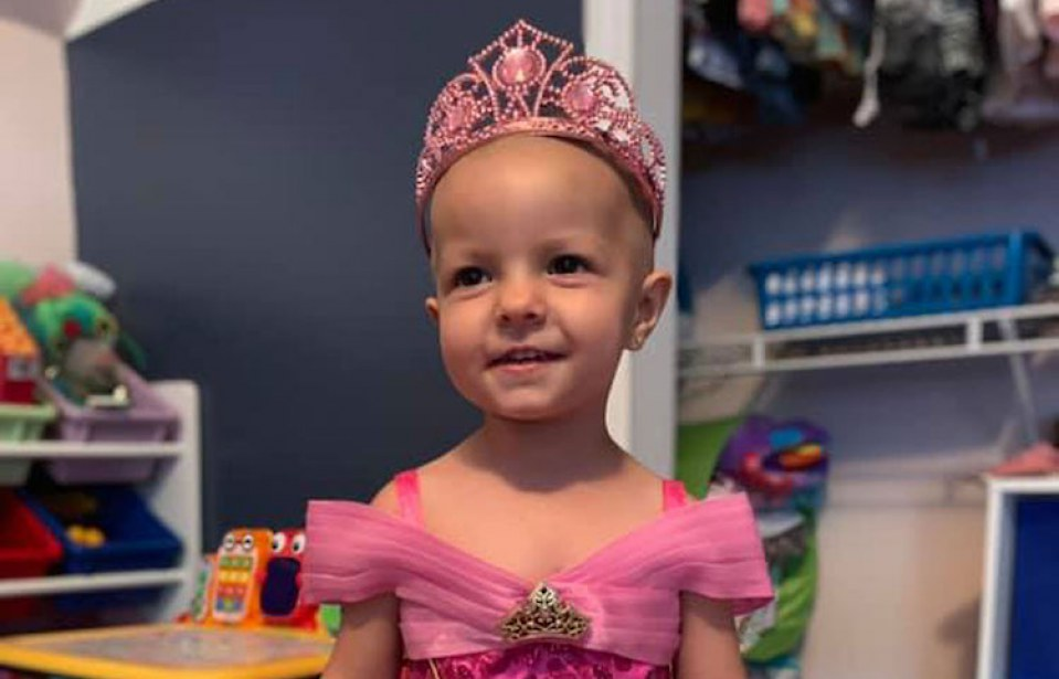 This Two-Year-Old Beat a Rare Form of Ovarian Cancer