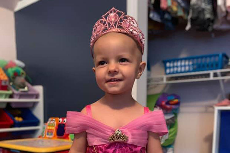 Two-Year-Old Beats Rare Ovarian Cancer
