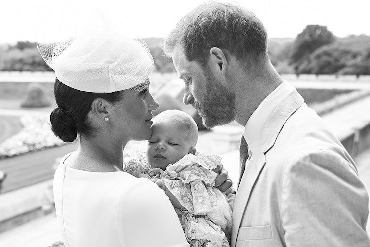 Prince Archie's Christening + Archie Name Popularity