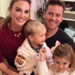 Armie Hammer Faces Massive Backlash After Sharing Video of His Son Sucking on His Toes