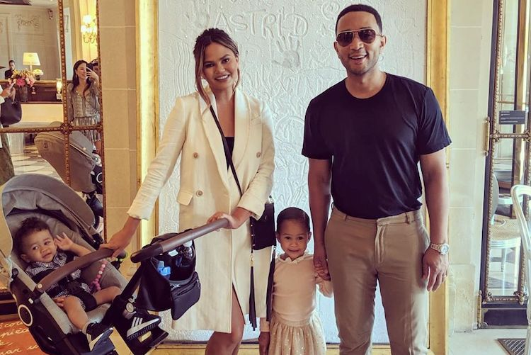 Chrissy Teigen vs. Mom Shaming
