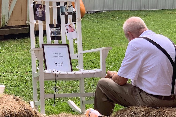 Grandfather Eats Alone at Memorial Set Up for Dead Wife at Granddaughter's Wedding