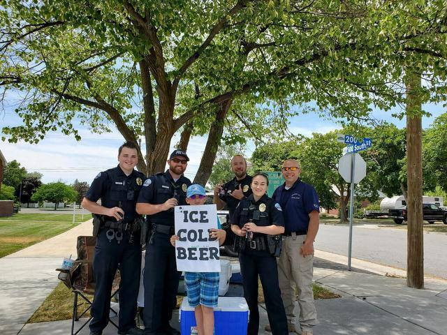 11-Year-Old Selling Ice Cold Root Beer