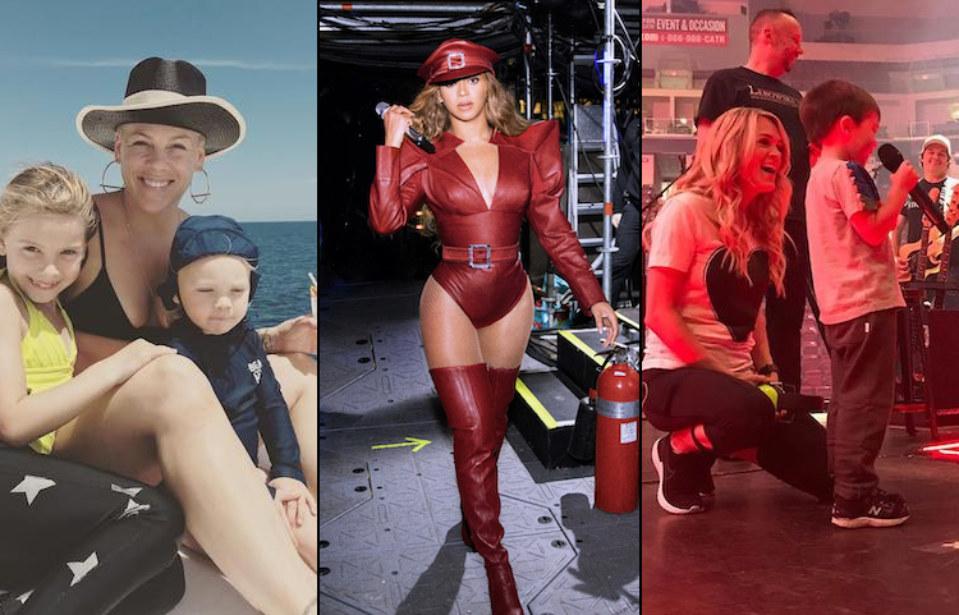 7 Celebrity Moms With Kickass Rockstar Style