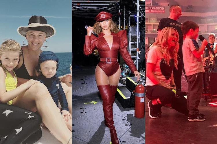 Celebrity Rockstar Moms
