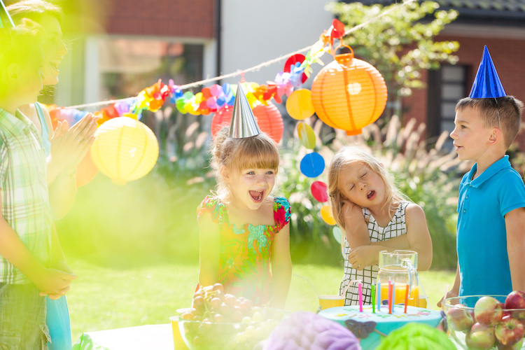 Ideas for Three-Year-Old's Birthday Party