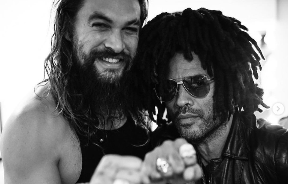 Lenny Kravitz Opened Up About Co-Parenting With Jason Momoa, and It's Truly Inspiring