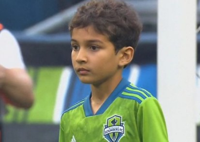 WATCH: Eight-Year-Old with Leukemia Makes Impressive Save at Seattle Sounders Game
