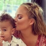 Watch Chrissy Teigen's Son Miles Take His First Steps