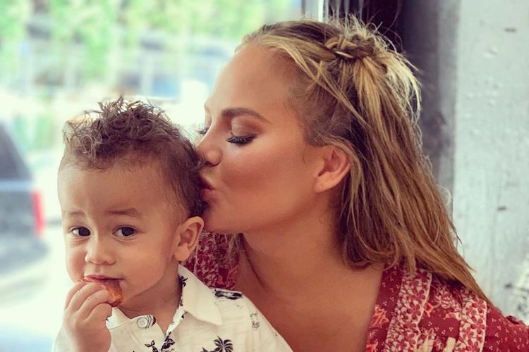 Chrissy Teigen's Son Miles Takes First Steps
