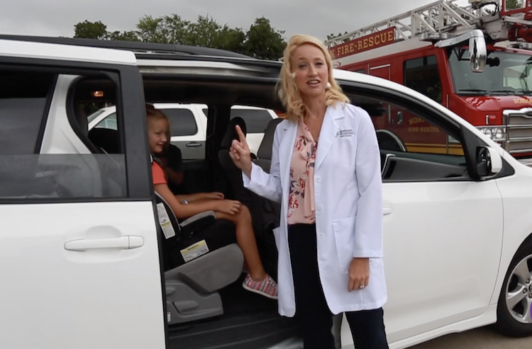 Doctor Raps About Car Seat Safety in 'Baby Got Back' Parody