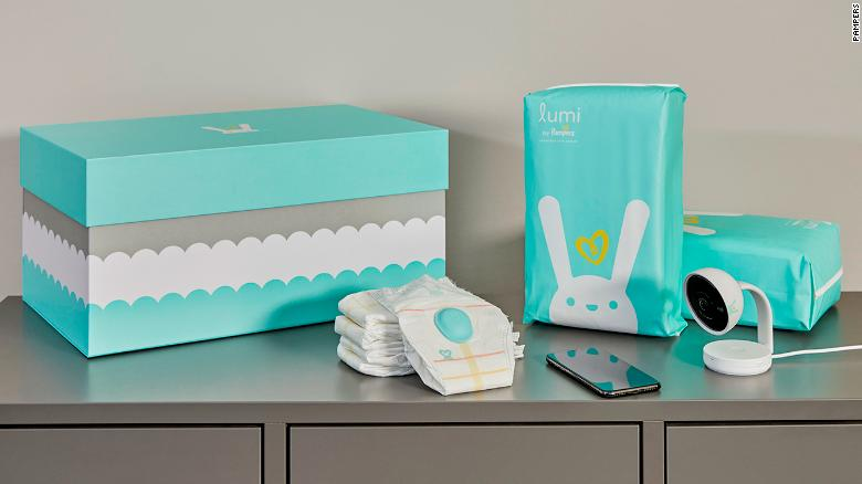 Pampers Launching Lumi Smart Diapers This Fall