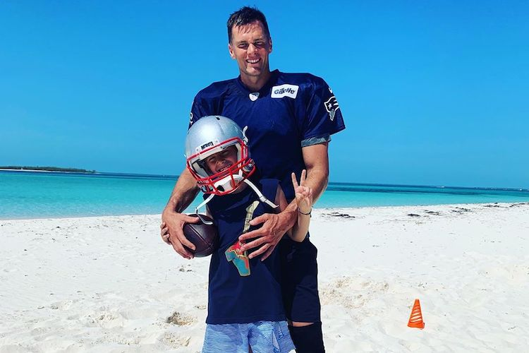 tom brady says it was hard to realize his son benny doesn't like sports