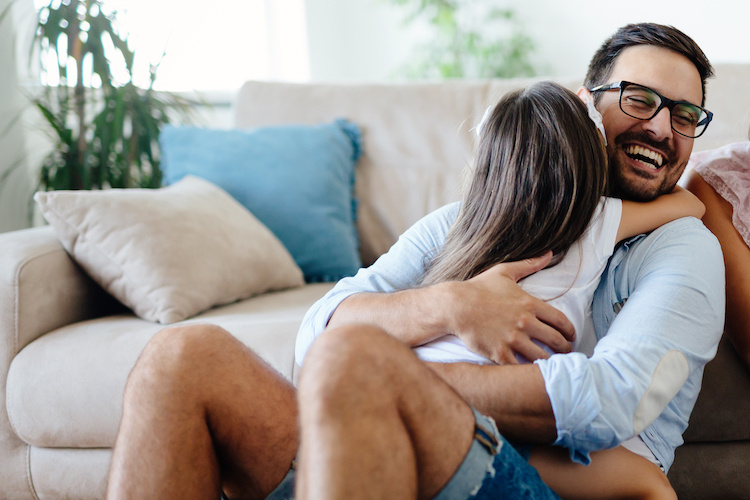 Dad Shamed by Family for Cuddling With Teenage Daughter