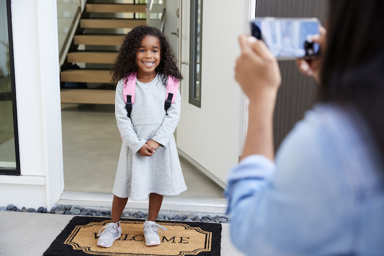 this mom was all of us on the first day of kindergarten   mom of three, carolyn moore, was fully prepped for summer to end and school to start. she'd done the kindergarten routine before with her two eldest, who just started fifth and third grade respectively. but moore, a writer at assignment mom, wasn't prepared for the flood of emotions that came with sending her youngest off to school for the first time.