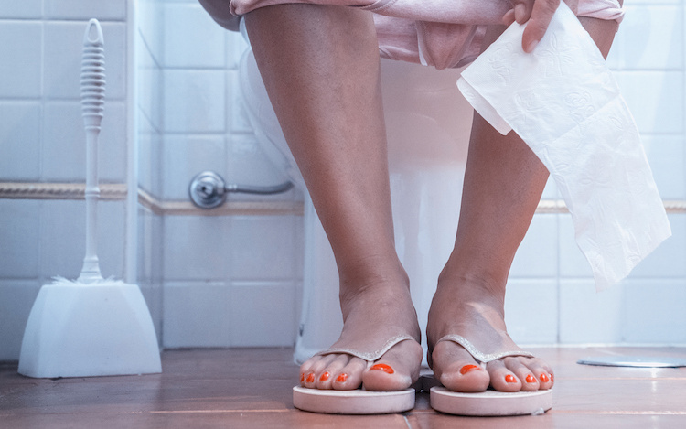 Husband Teases Wife for Pooping