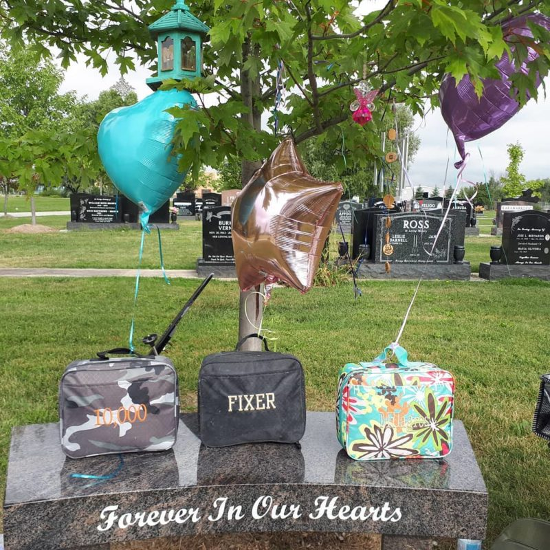 Jennifer Neville-Lake: Mom of Kids Killed by Drunk Driver Shares Moving Lunchbox Grave Photo in Their Honor