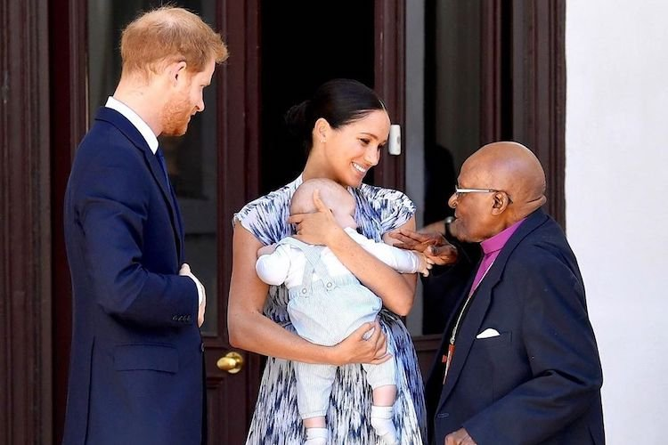 Baby Archie, Who Looks Just Like Daddy, Embarked on His First Royal Tour with Parents Meghan Markle and Prince Harry