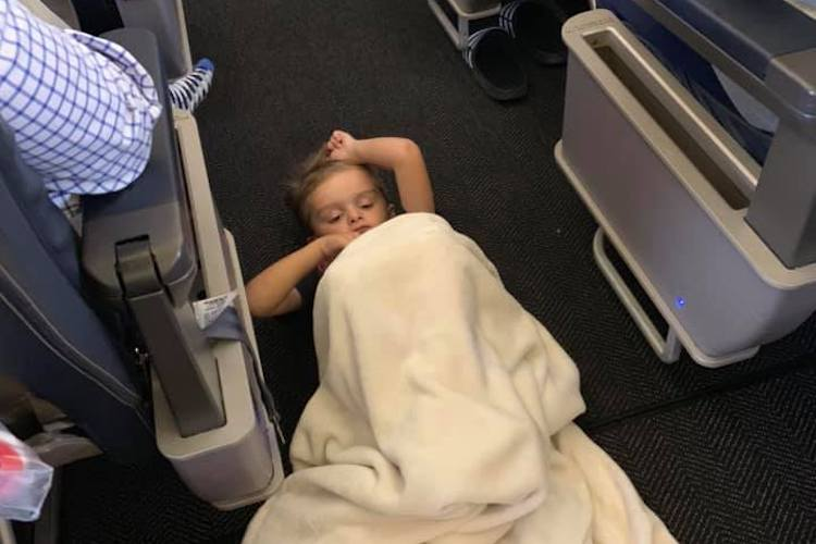 United Airlines: Boy With Autism Calmed During Flight