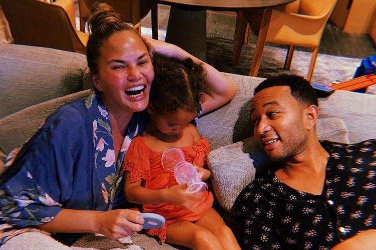 Chrissy Teigen's Daughter Luna Has Crush on a Cute Boy