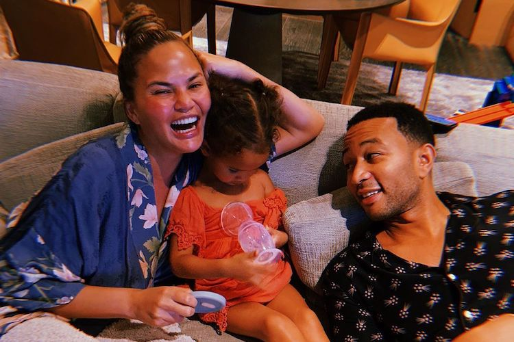 Chrissy Teigen's Daughter Luna Has Crush on a Cute Boy
