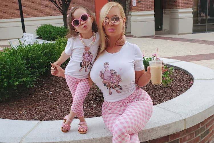 Coco Austin Shares Photos of Herself Breastfeeding Almost Four-year-Old Daughter, Ice T Issues Defense