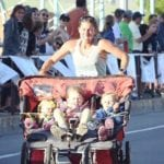 This Mom Broke World Records Running a Marathon with Her Three Kids in a Stroller, Proving Superheroes Do Exist
