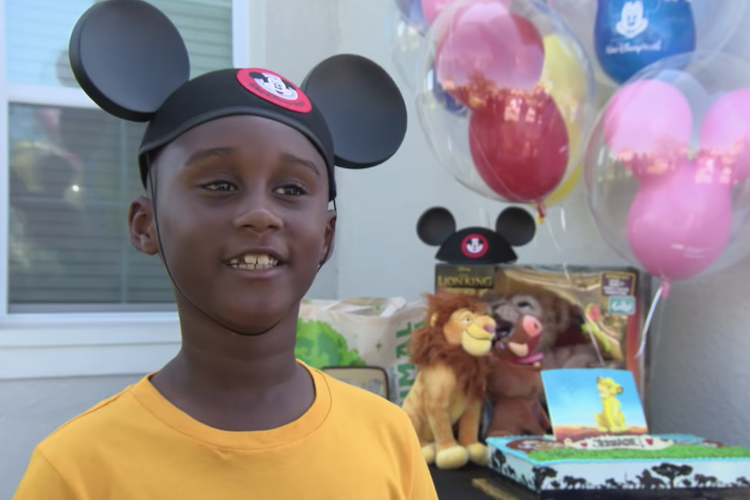 jermaine bell: 7-year-old uses money saved for disney vacation to help hurricane dorian evacuees